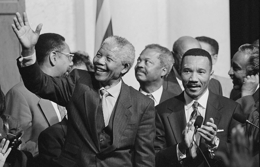 Nelson Mandela and the Congressional Black Caucus