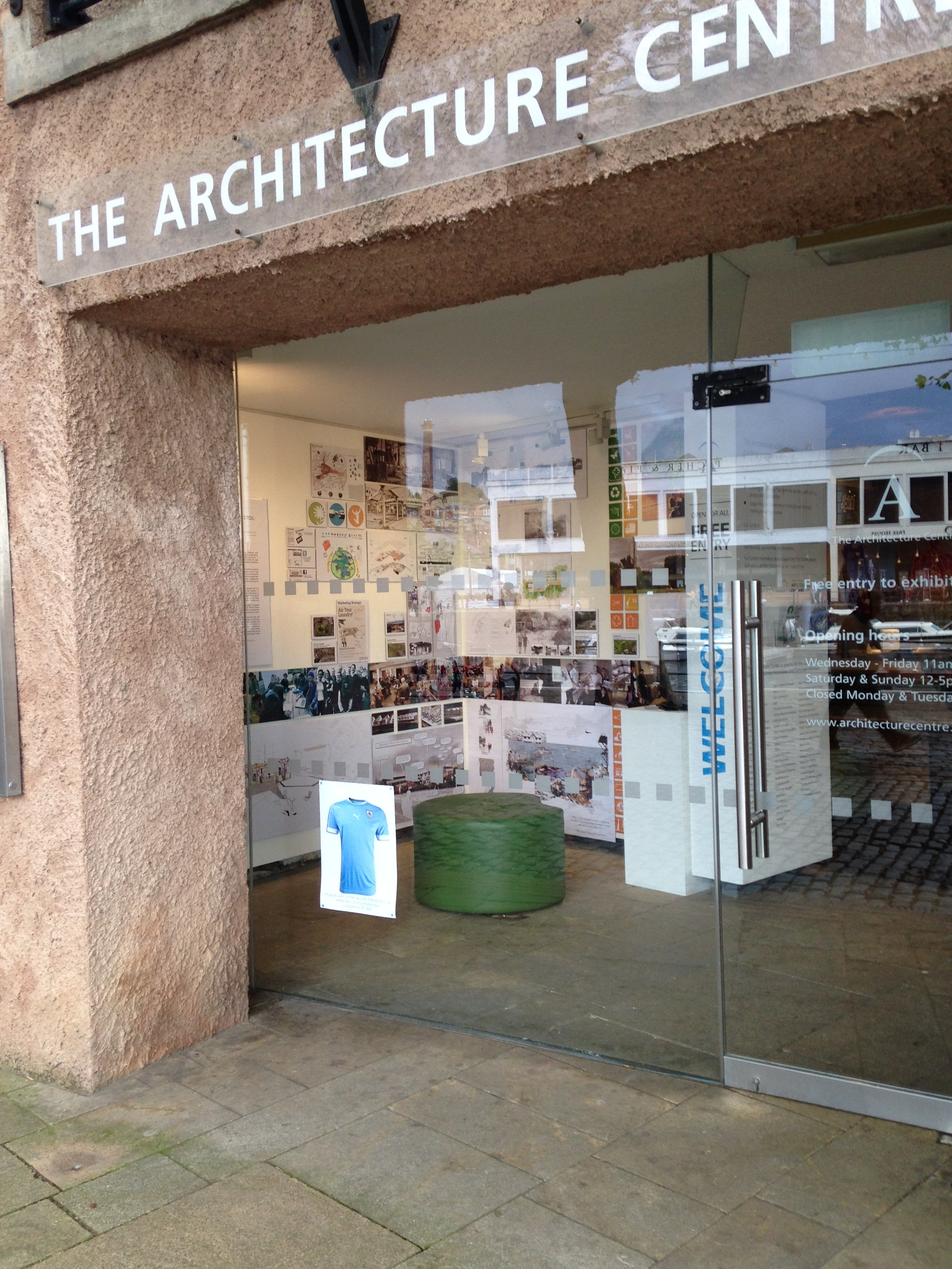 MArch Live Projects displayed at The Architecture Centre, Bristol.