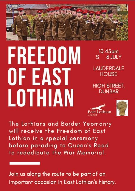 freedom of east lothian sat 6th july.jpg