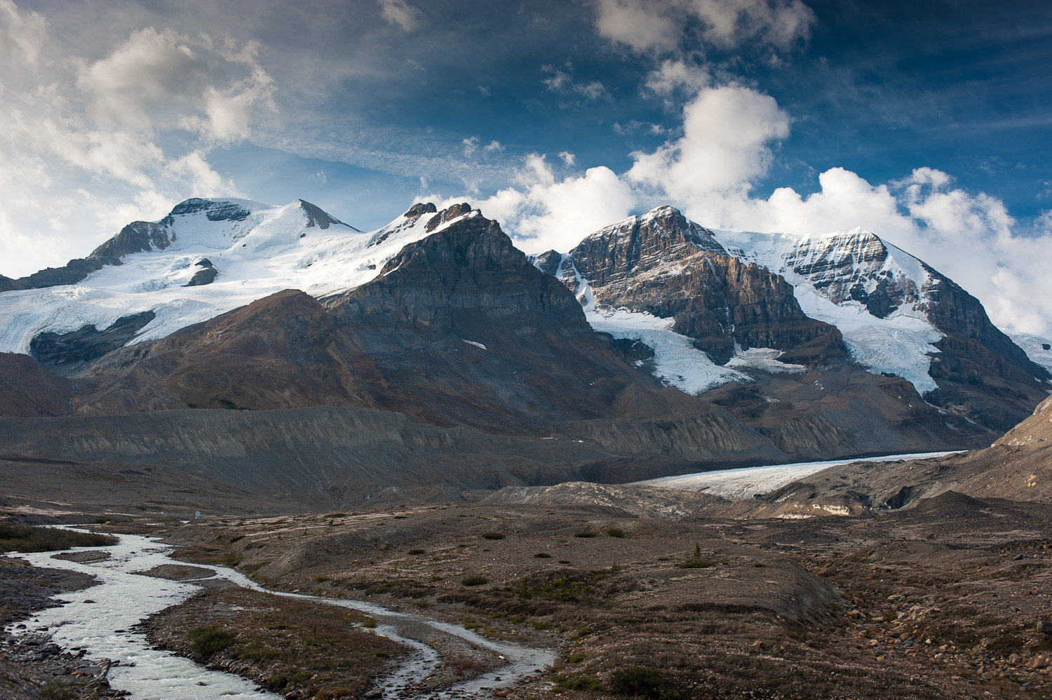 Mt. Athabasca & Columbia Icefields