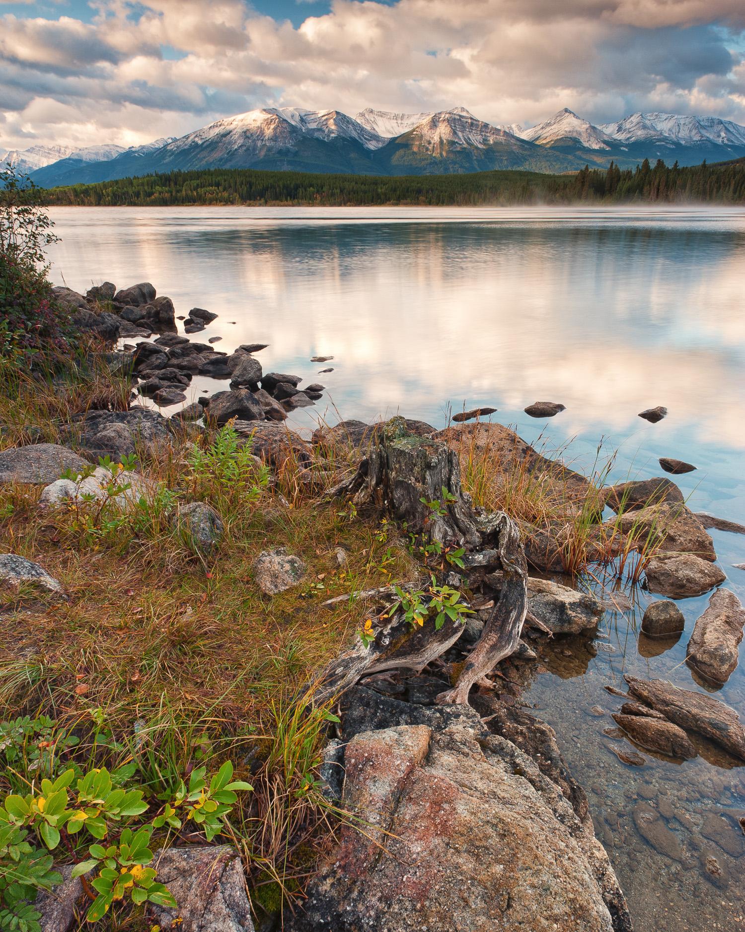 Whistlers Mountain Across Pyramid Lake