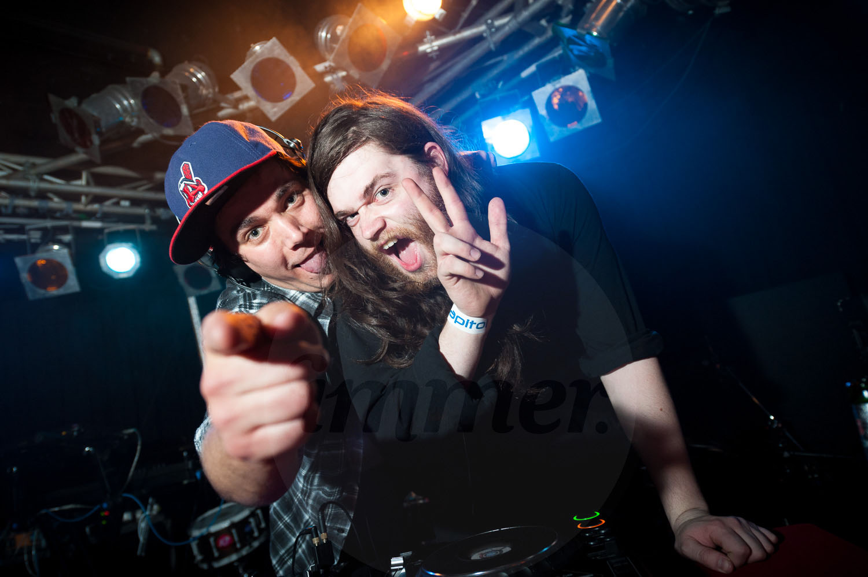 Purple Sneaker DJs