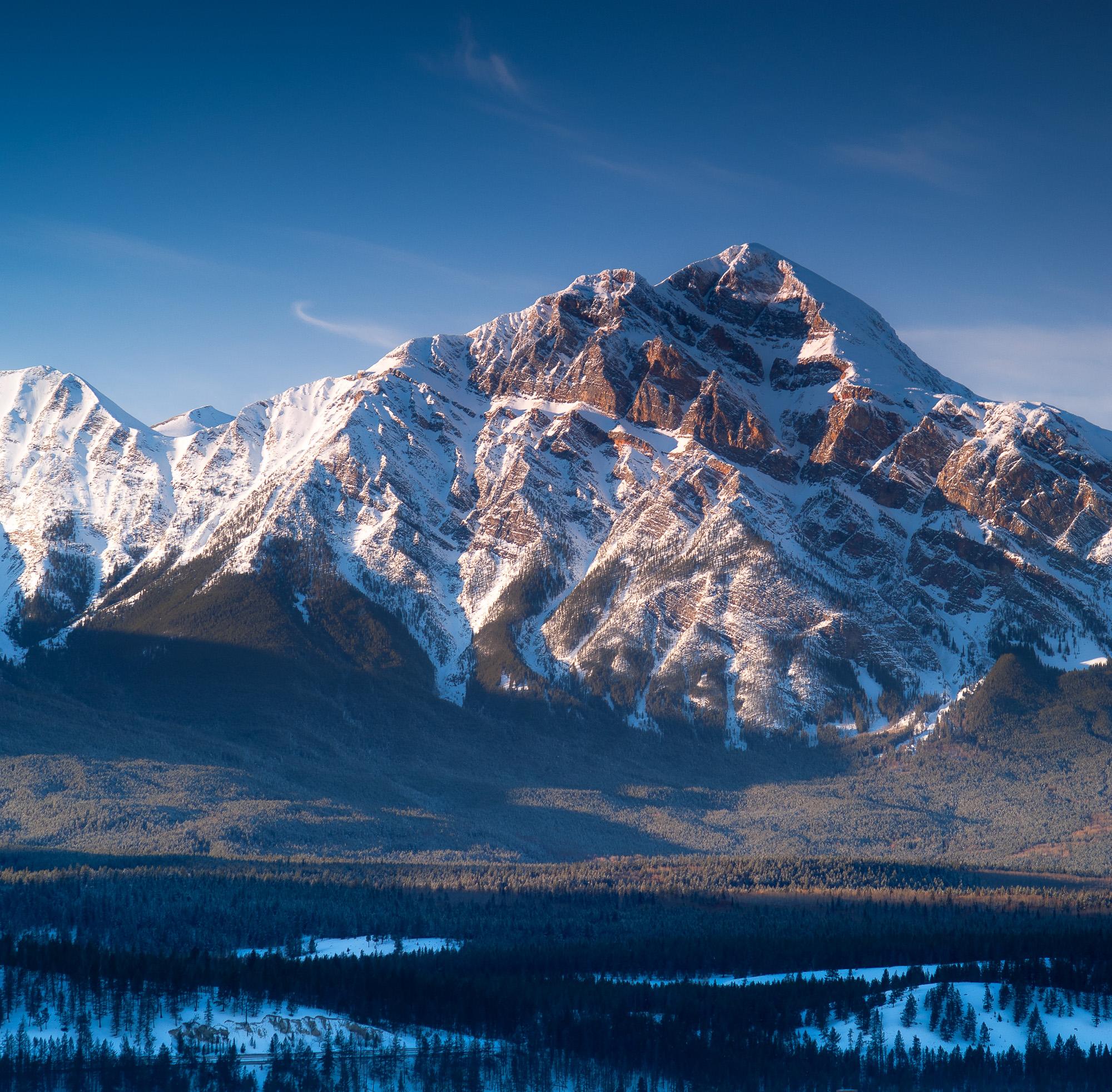 0001 Pyramid Mountain in Winter.jpg