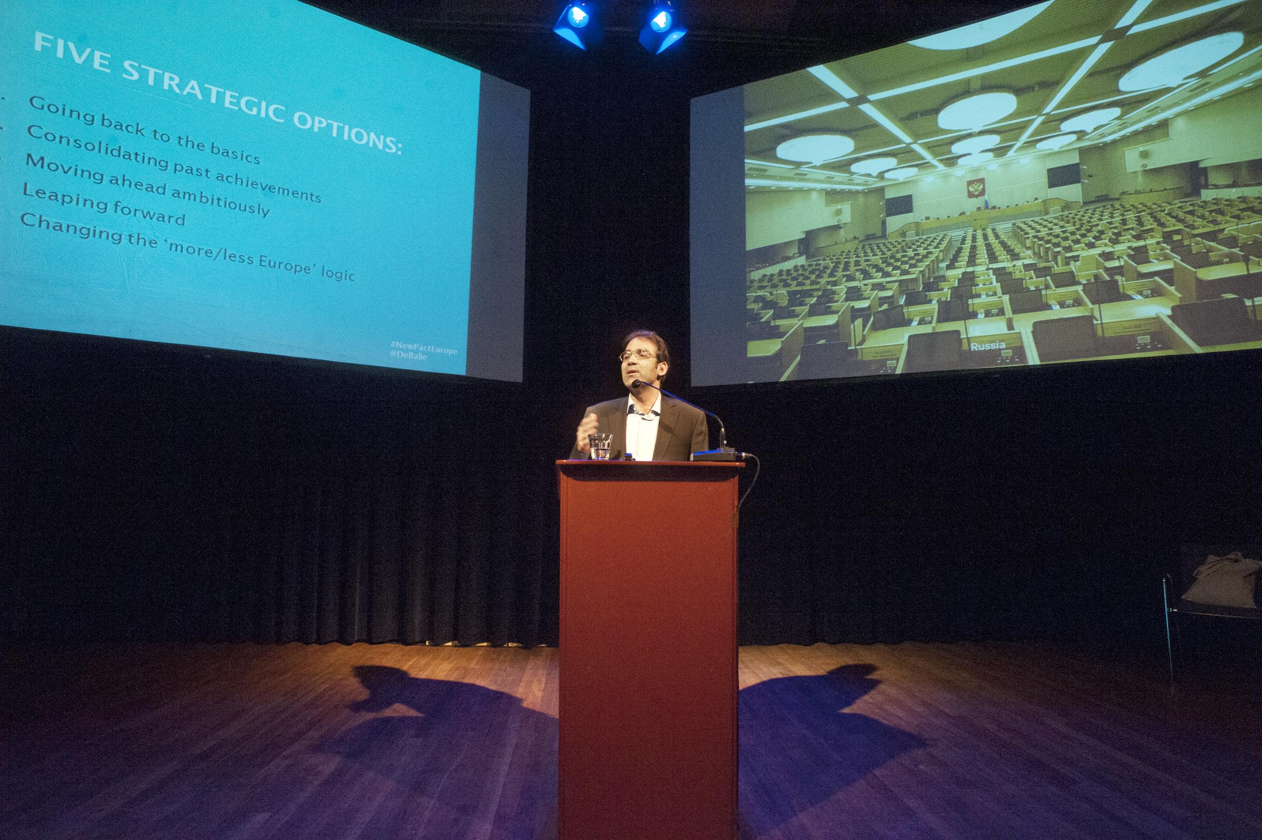 Keynote speaker George Pagoulatos ©Jan Boeve