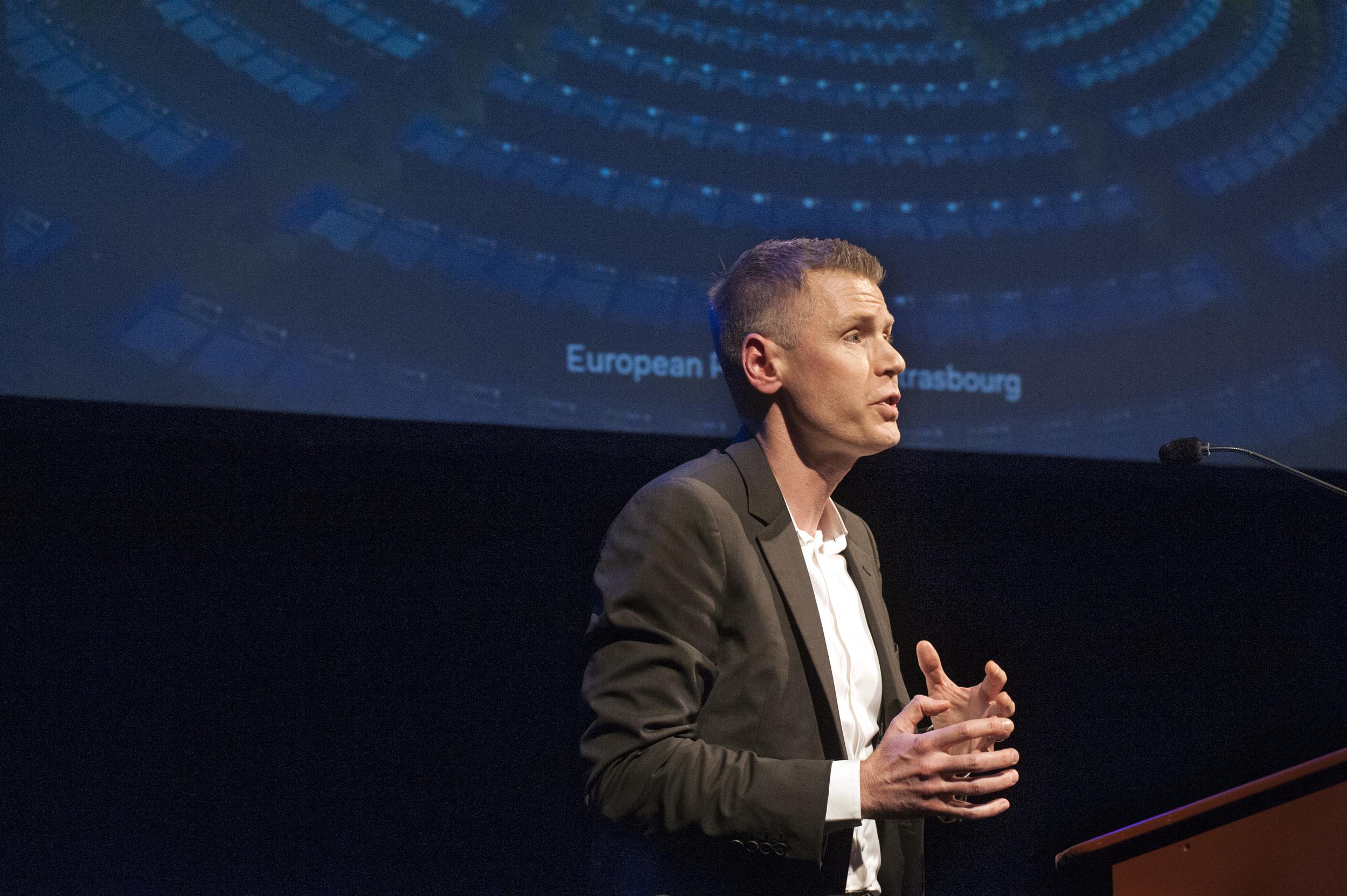 Keynote speaker Philippe Legrain ©Jan Boeve