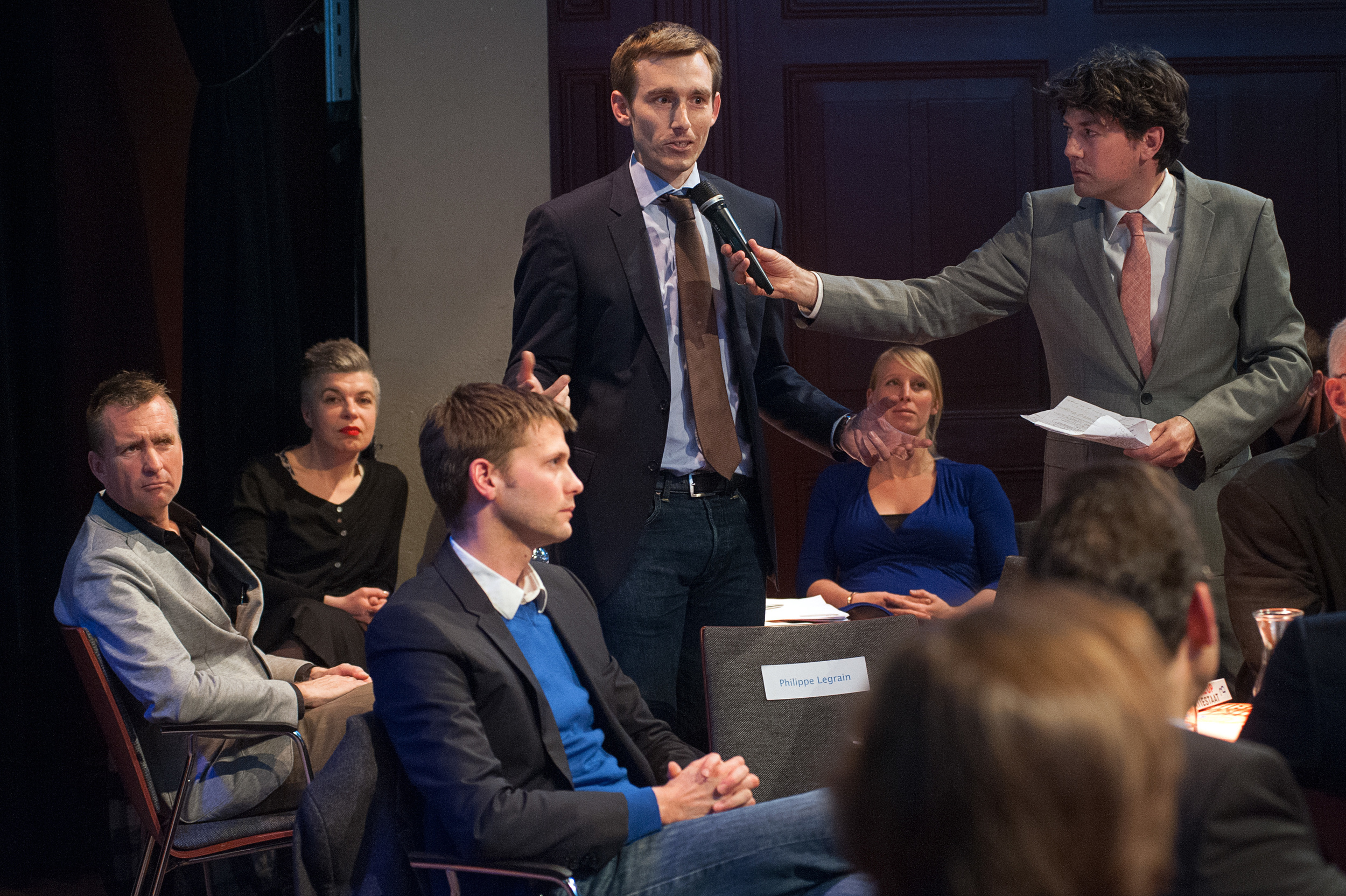 Panelist Dirk Goting ©Jan Boeve