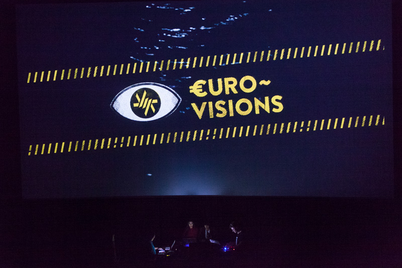 €urovisions live cinema performance. Photo ©Xander Remkes