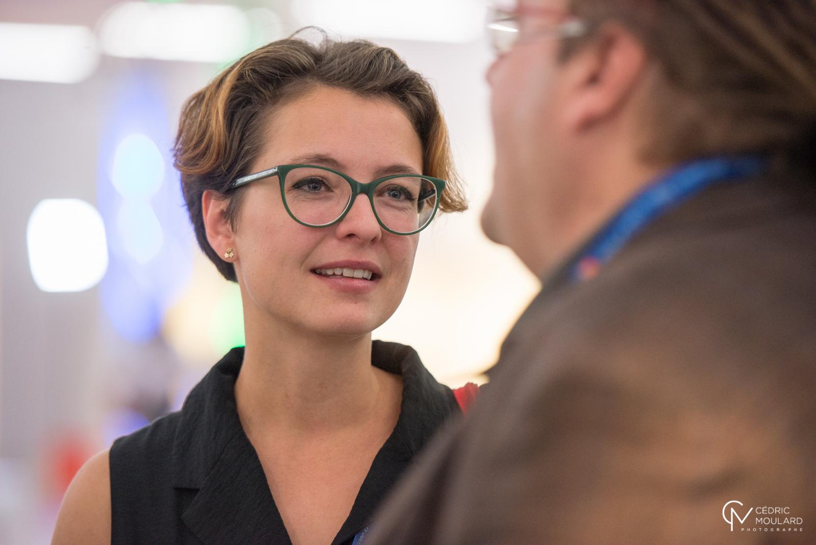 Olga Alexeeva at the Idea Camp. ©Cedric Moulard