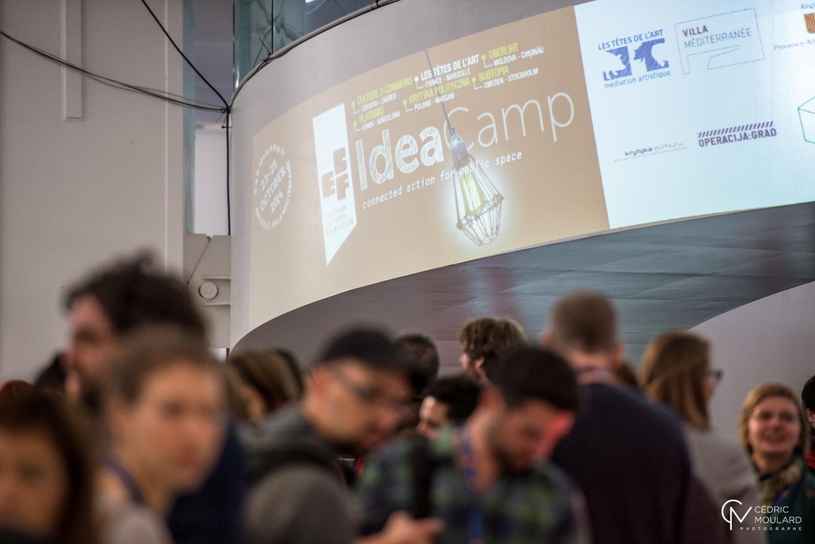 Idea Camp 2014. Photo ©Cedric Moulard
