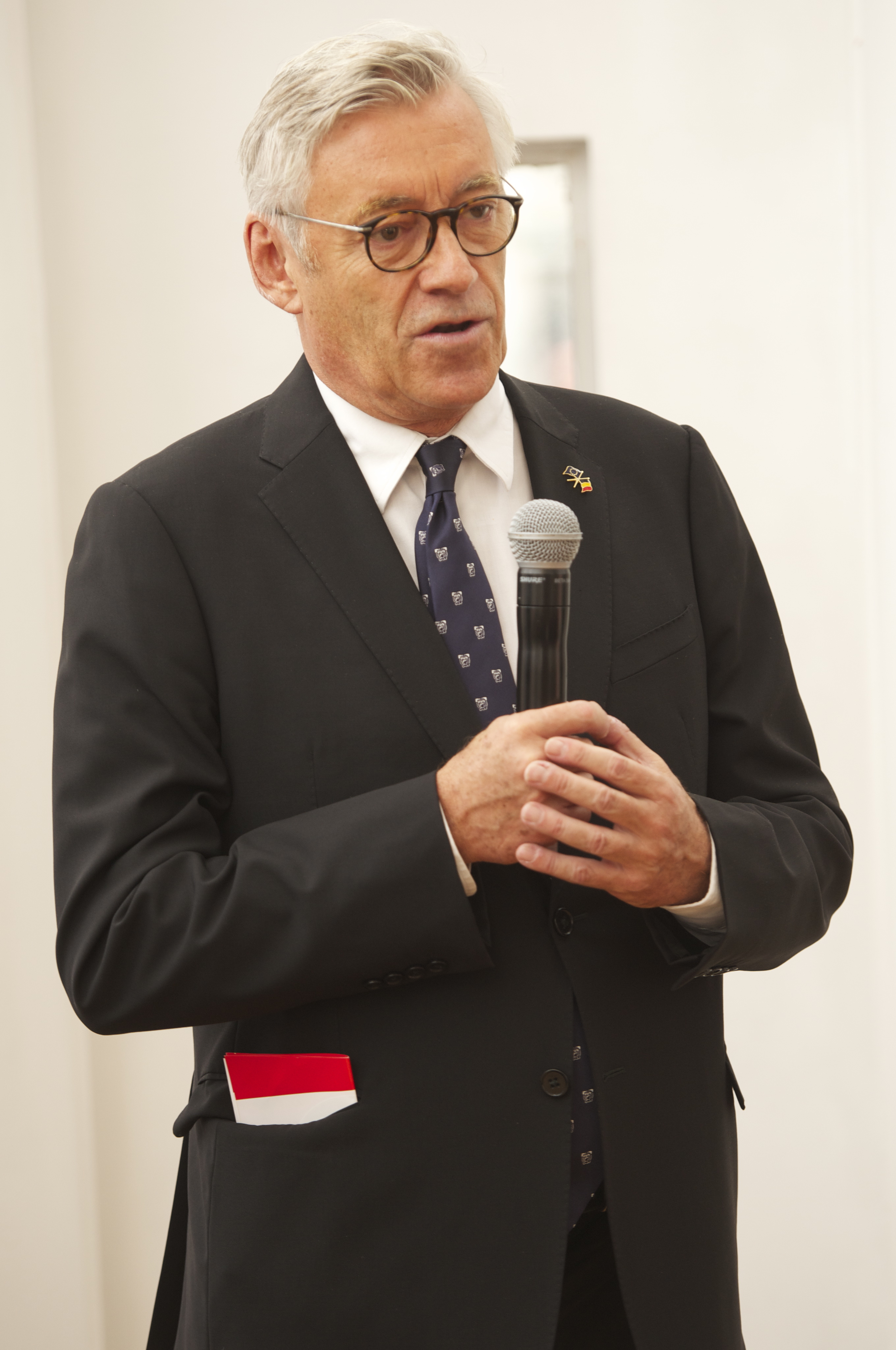 Jimmy Jamar, Head of the European Commission.Historic Speech debate at BOZAR.Photo ©Yves Gervais