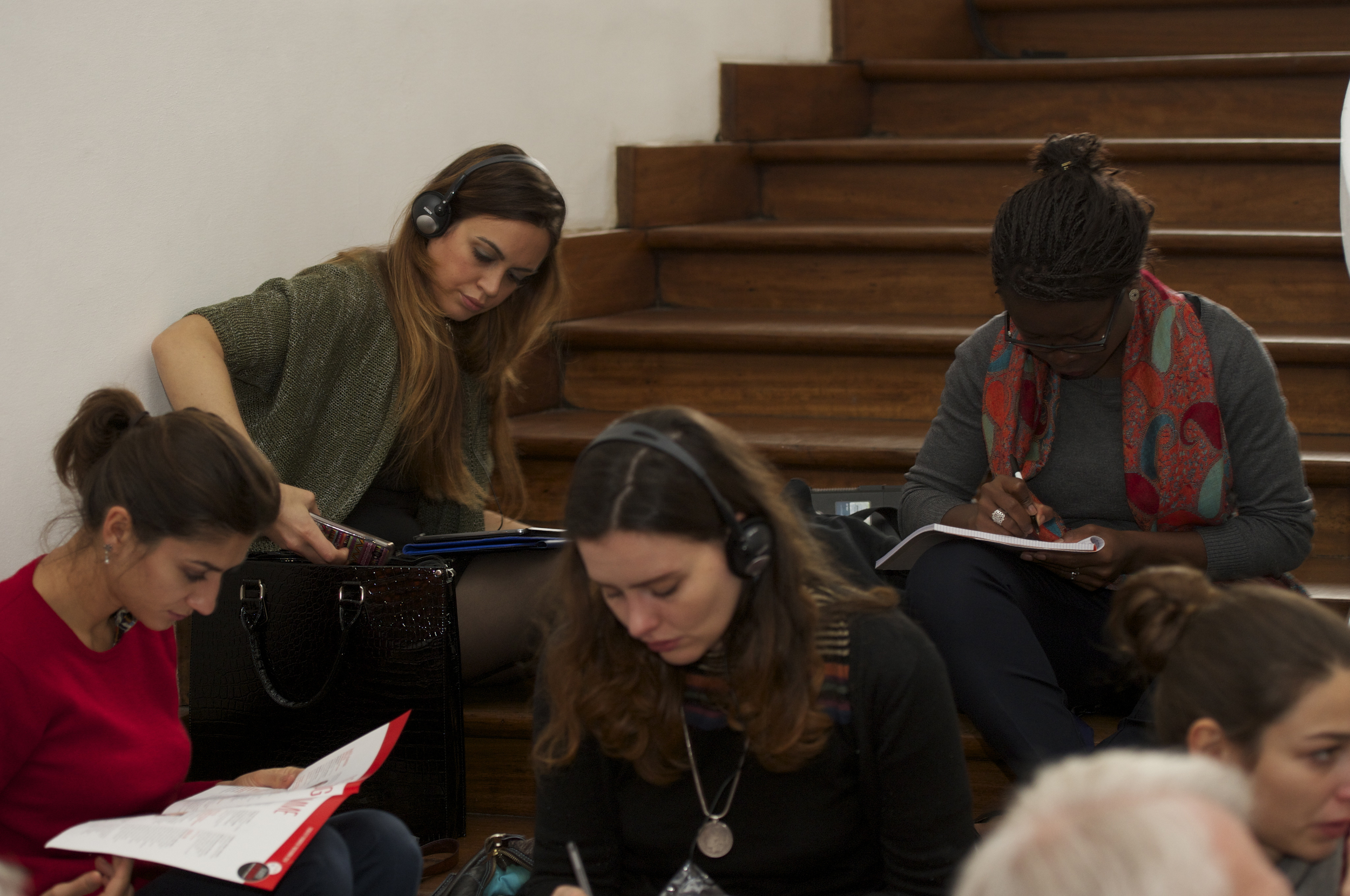 Part of theaudience during the Historic Speech debate at BOZAR.Photo ©Yves Gervais