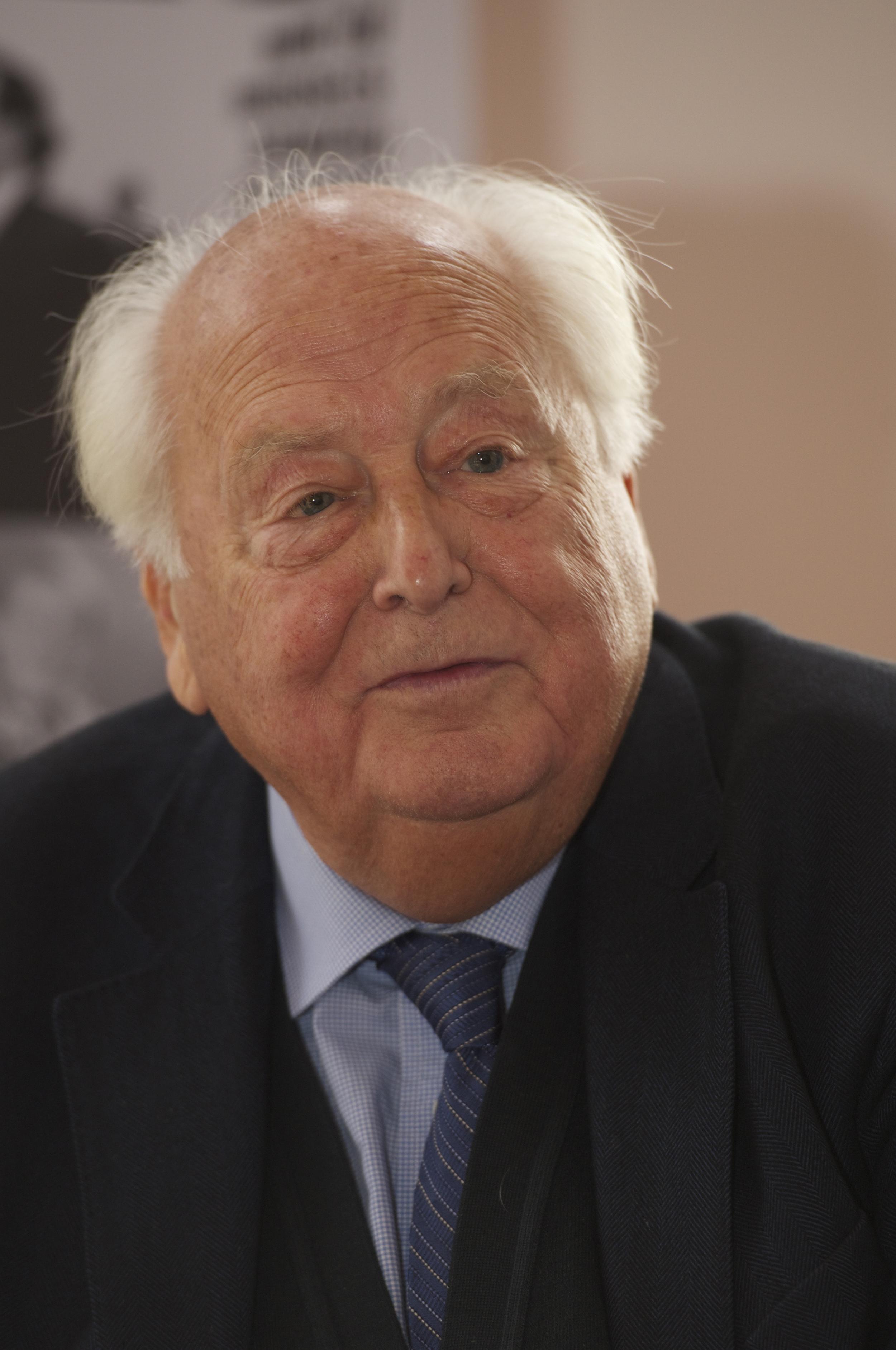 Raymond Georis at the Historic Speech debate at BOZAR.Photo ©Yves Gervais