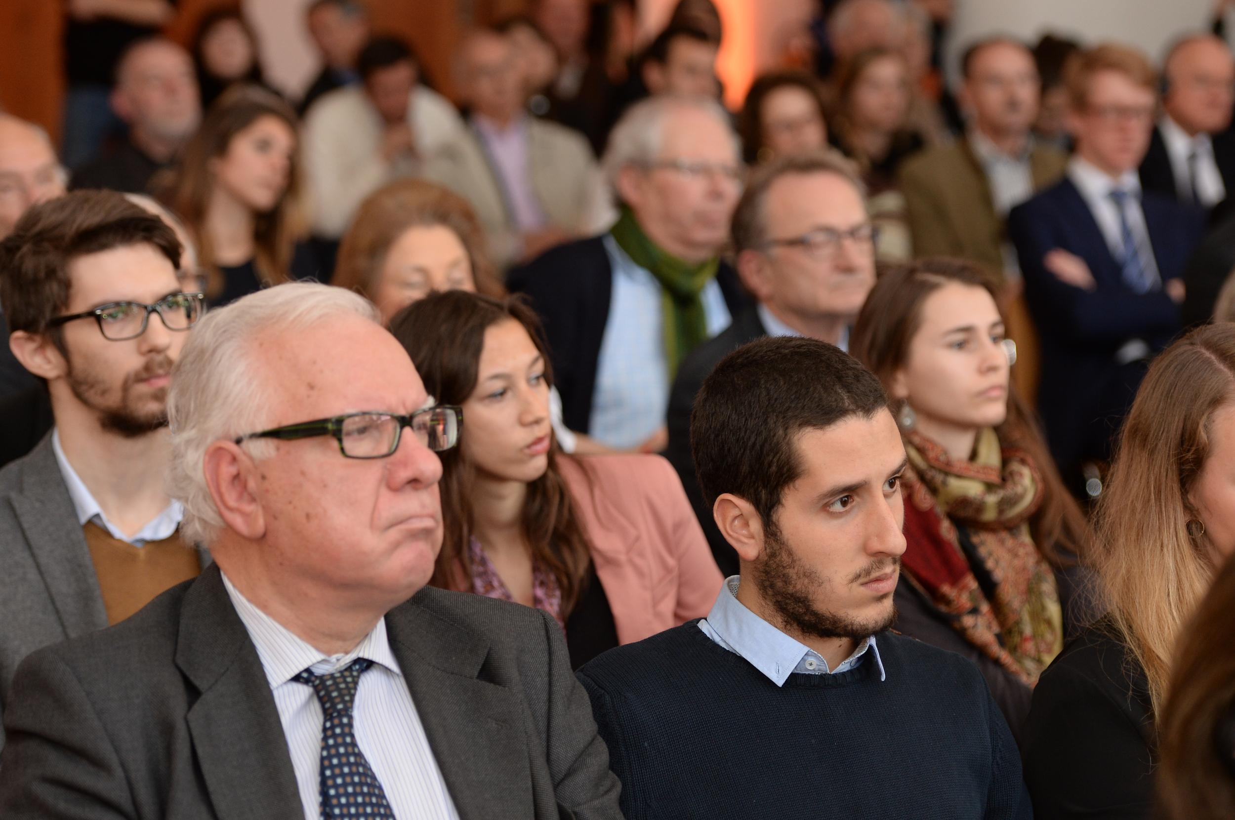 Historic Speech debate at BOZAR.Photo ©Yves Gervais