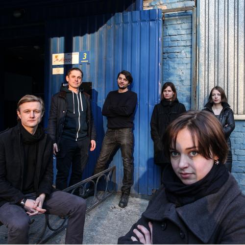 The team of Visual Culture Research Center, Kiev.Photo ©Oleksandr Techynskyi