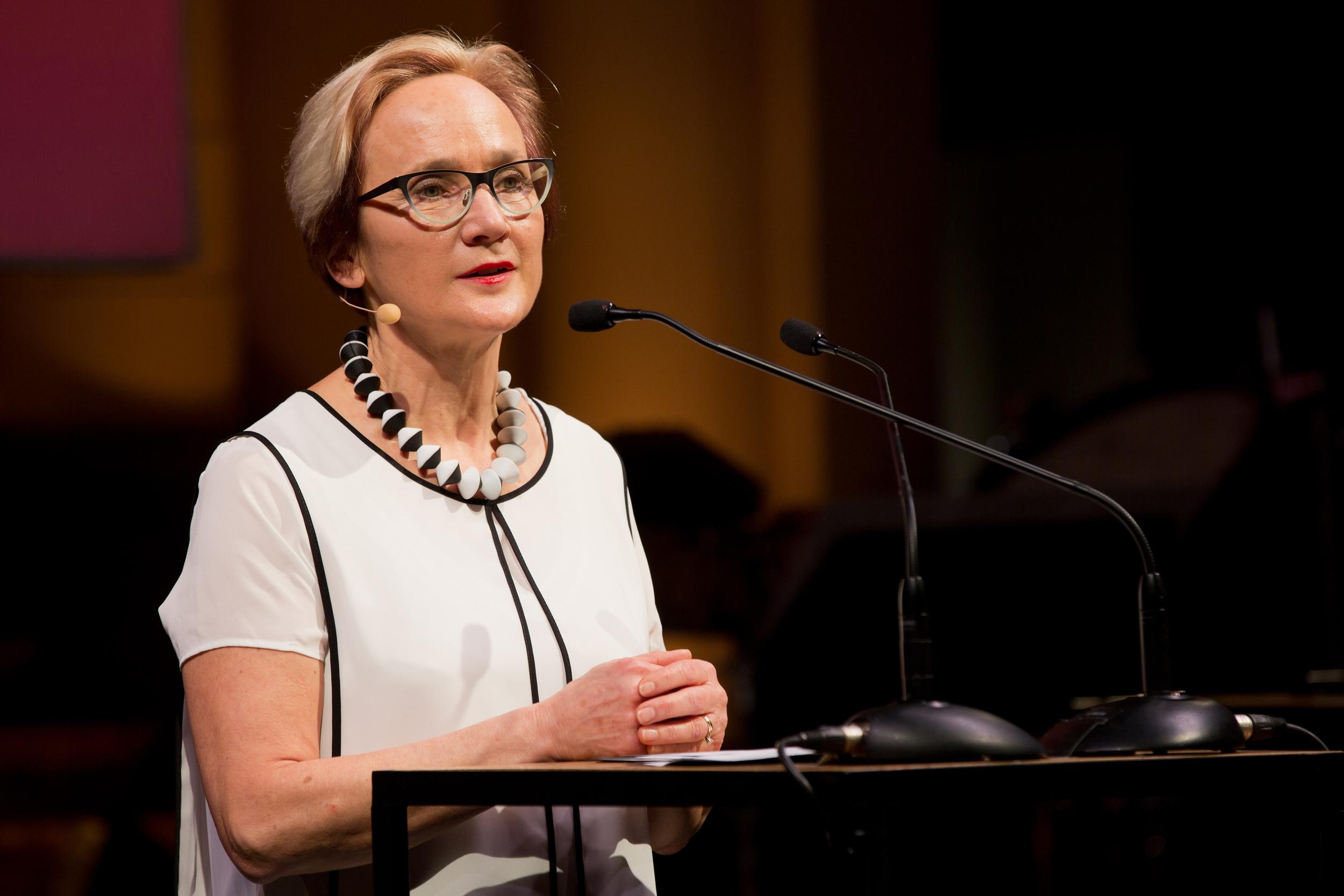 ECF Director Katherine Watson.Photo by Maarten van Haaff.
