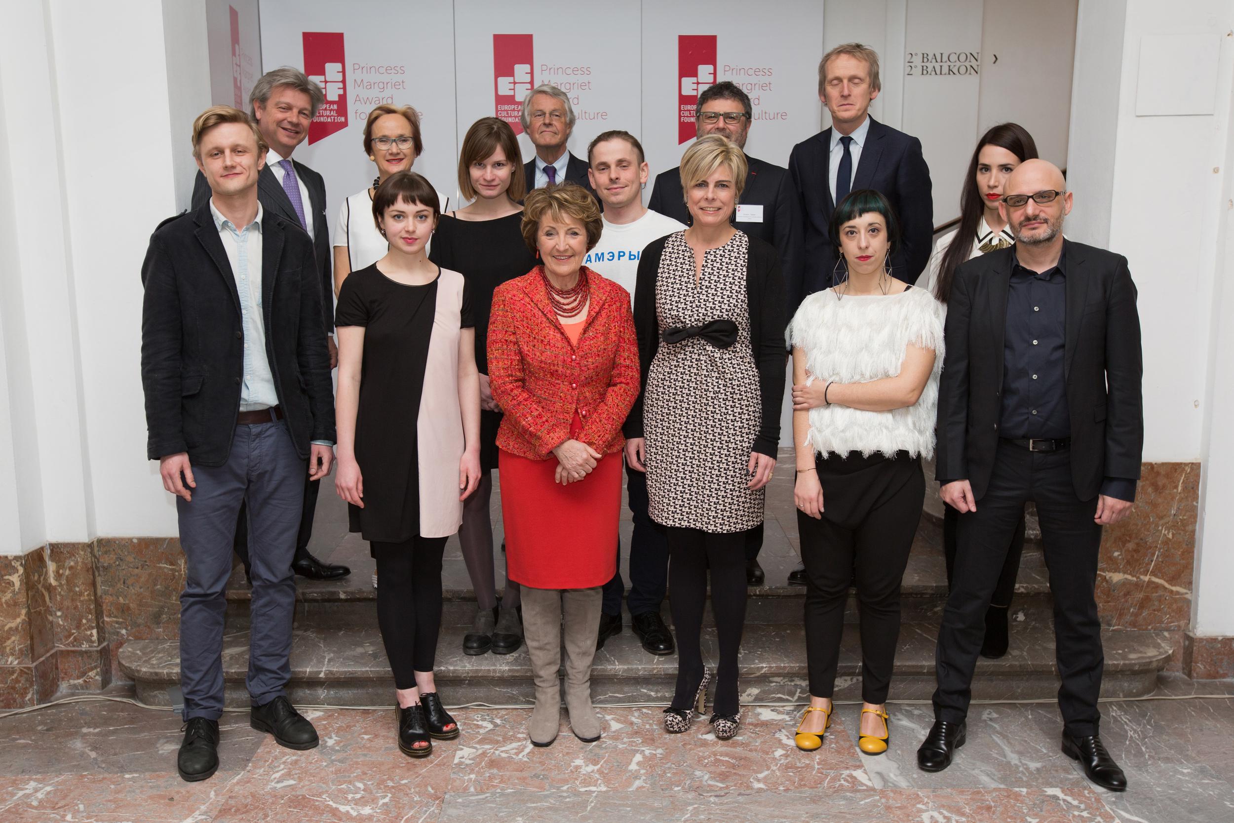 ECF Princess Margriet for Culture Award 2015. Photo byMaarten van Haaff.