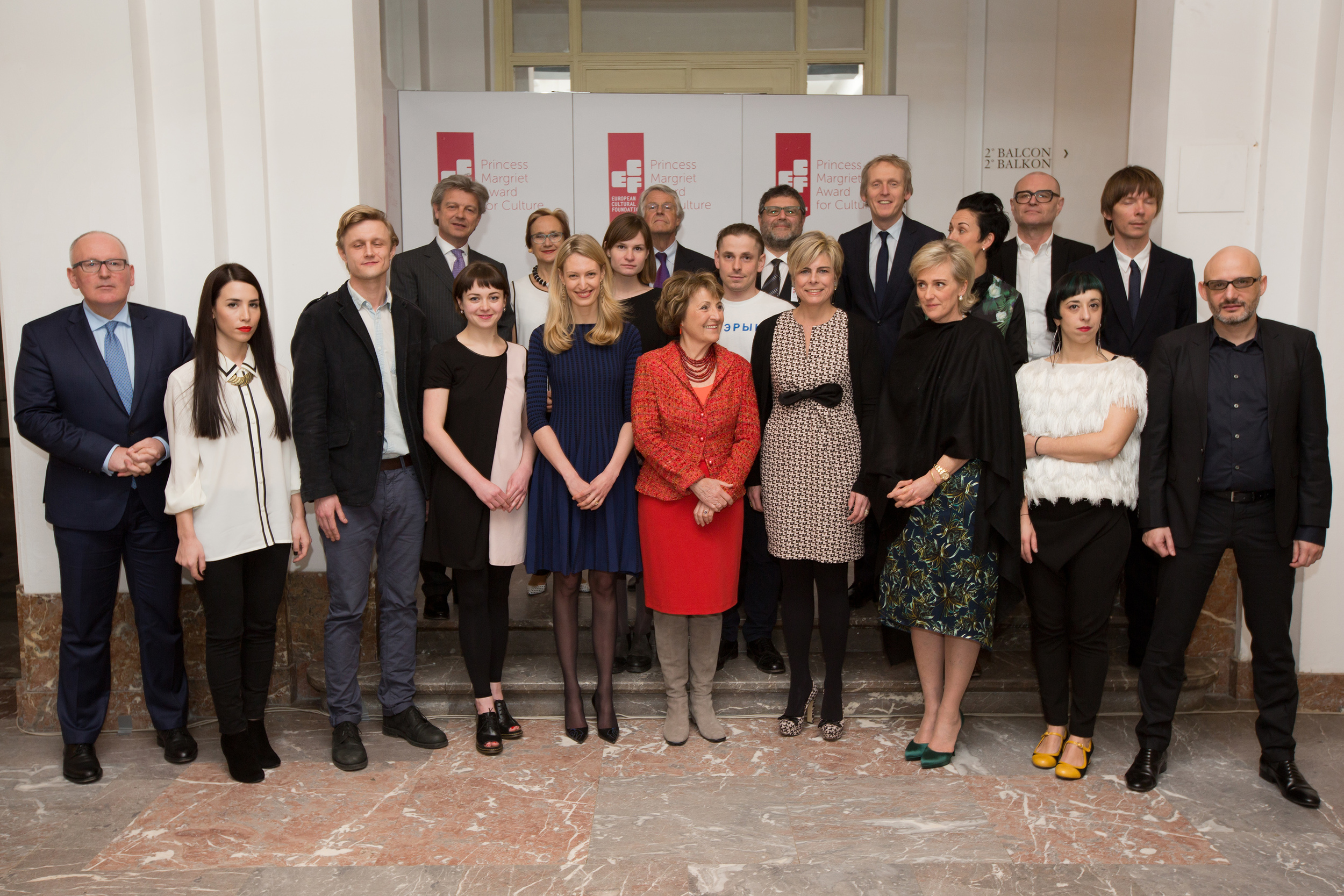 ECF Princess Margriet for Culture Award 2015. Photo by Maarten van Haaff.