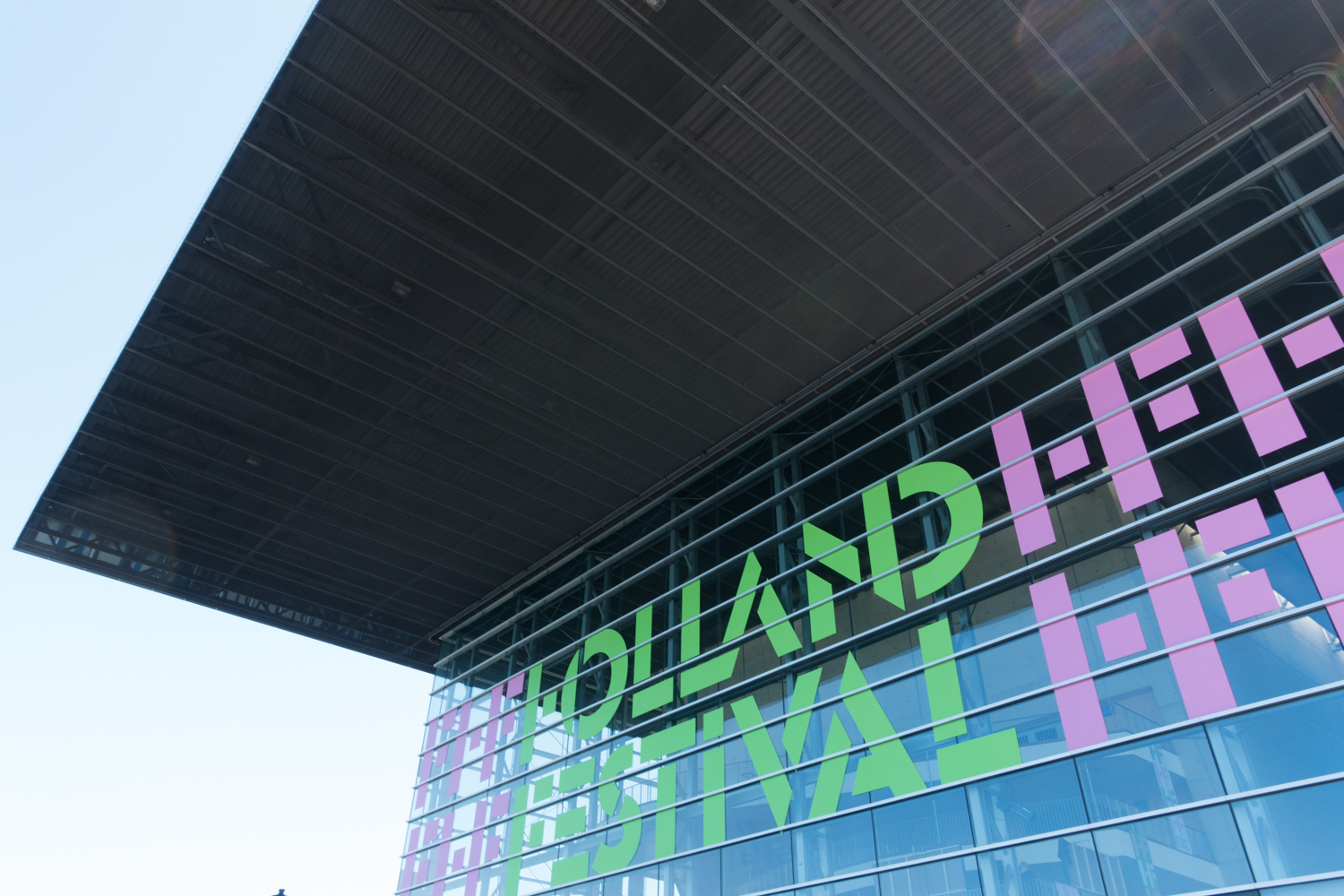 The Muziekgebouw aan 't IJ during the Holland Festival in June 2015. Photo by Canan Marasligil