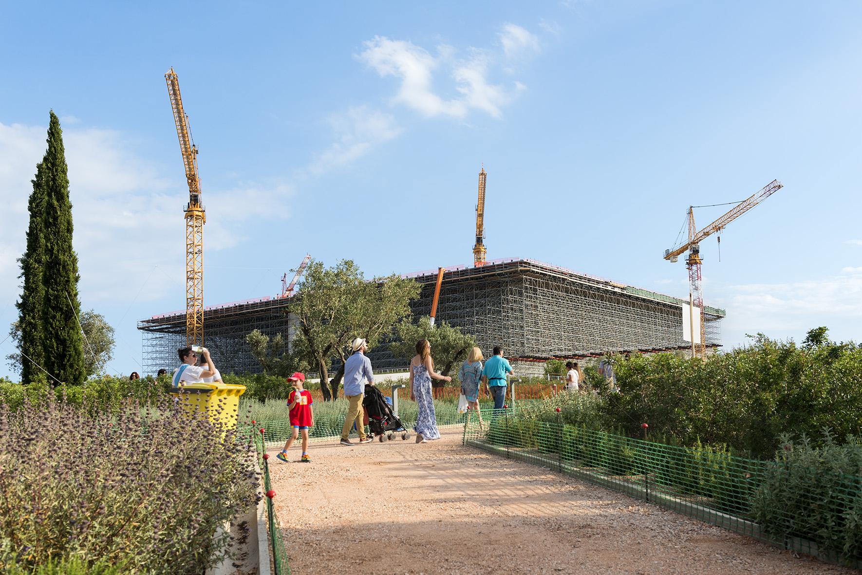 The Stavros Niarchos Foundation Cultural Center. Photo ©Yiorgis Yerolymbos