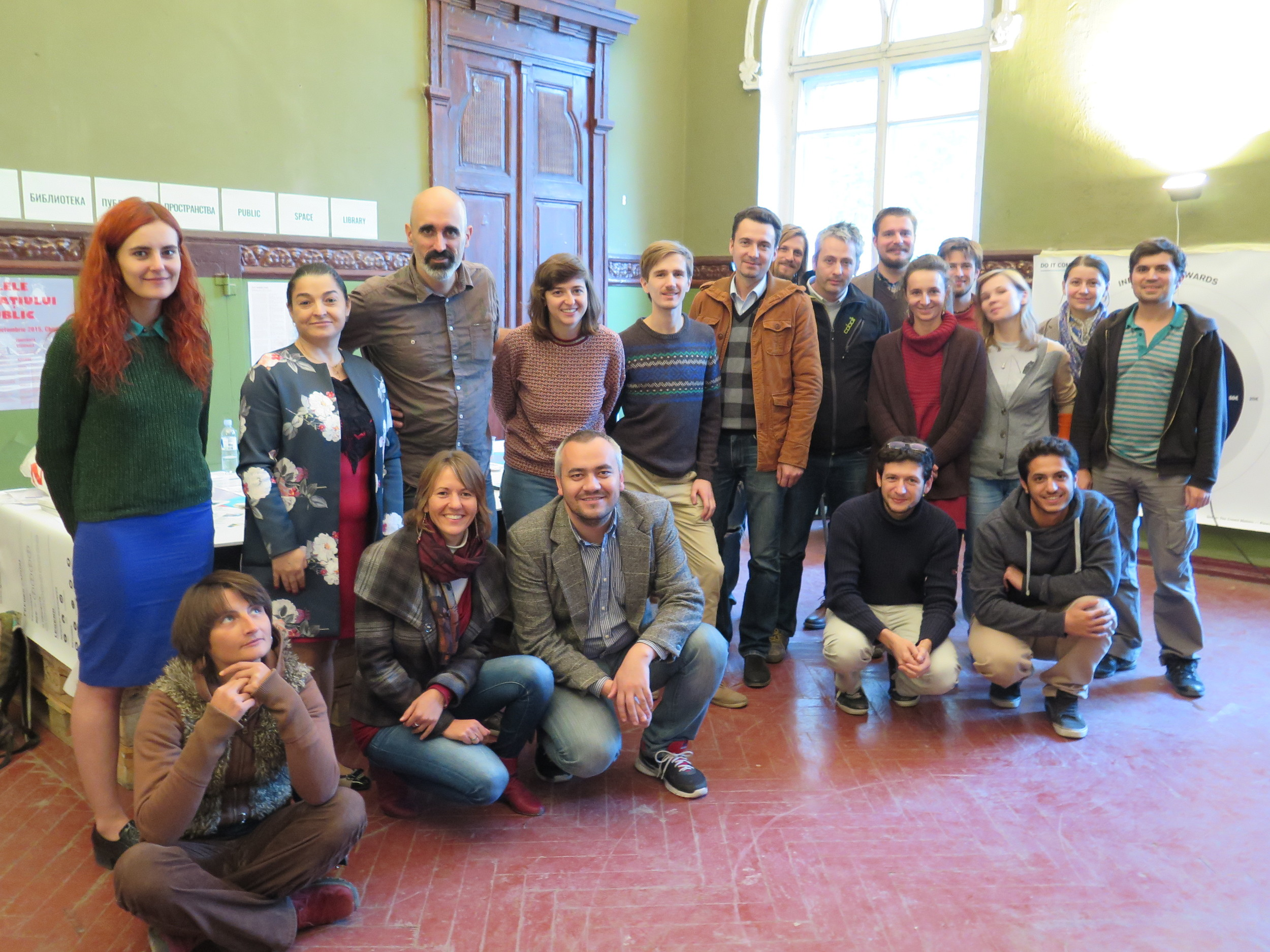 Participants of the workshop in Public Space Days .