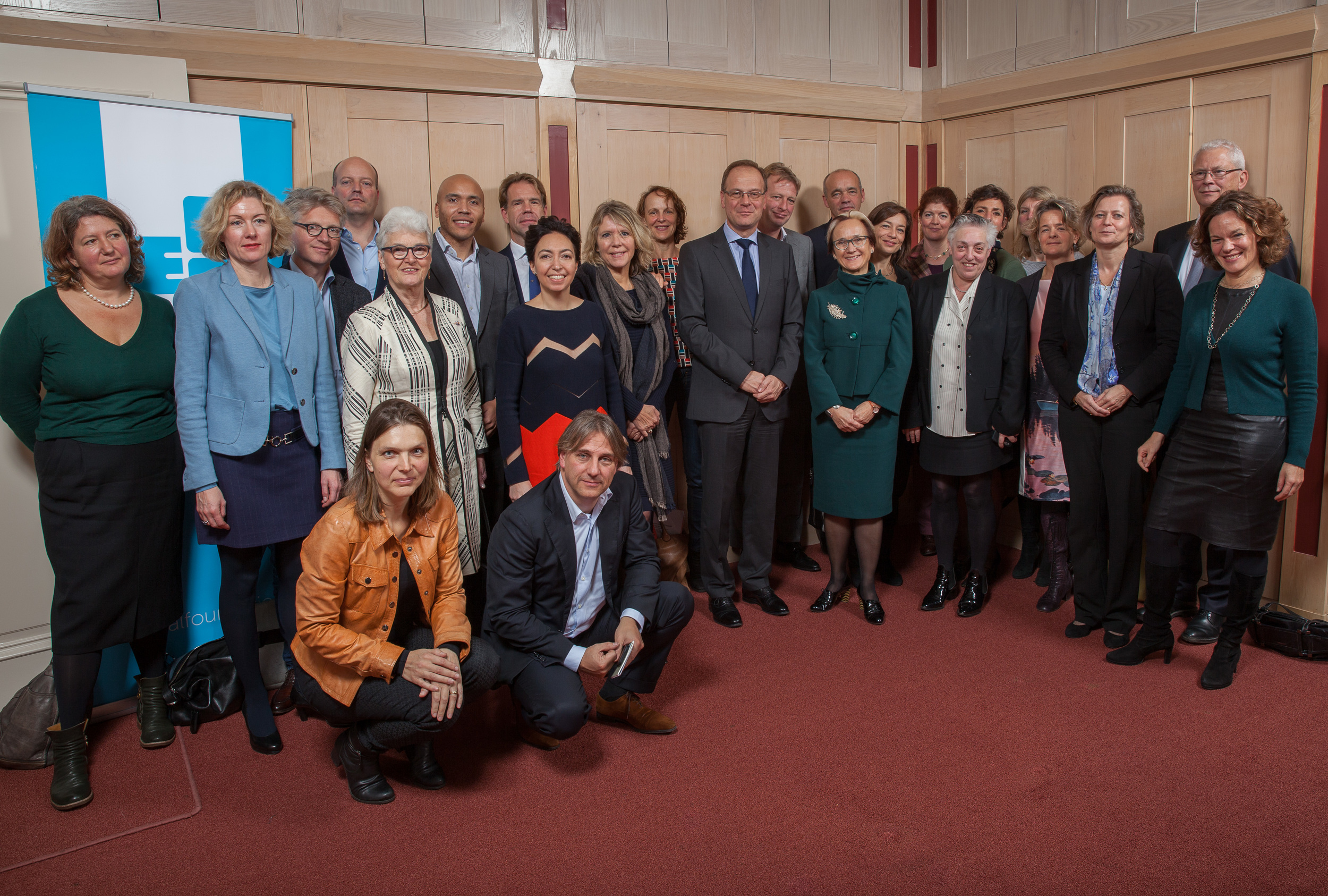 Tibor Navracsics and Katherine Watson with the stakeholders from the Dutch arts and culture sector. Photo by Xander Remkes.
