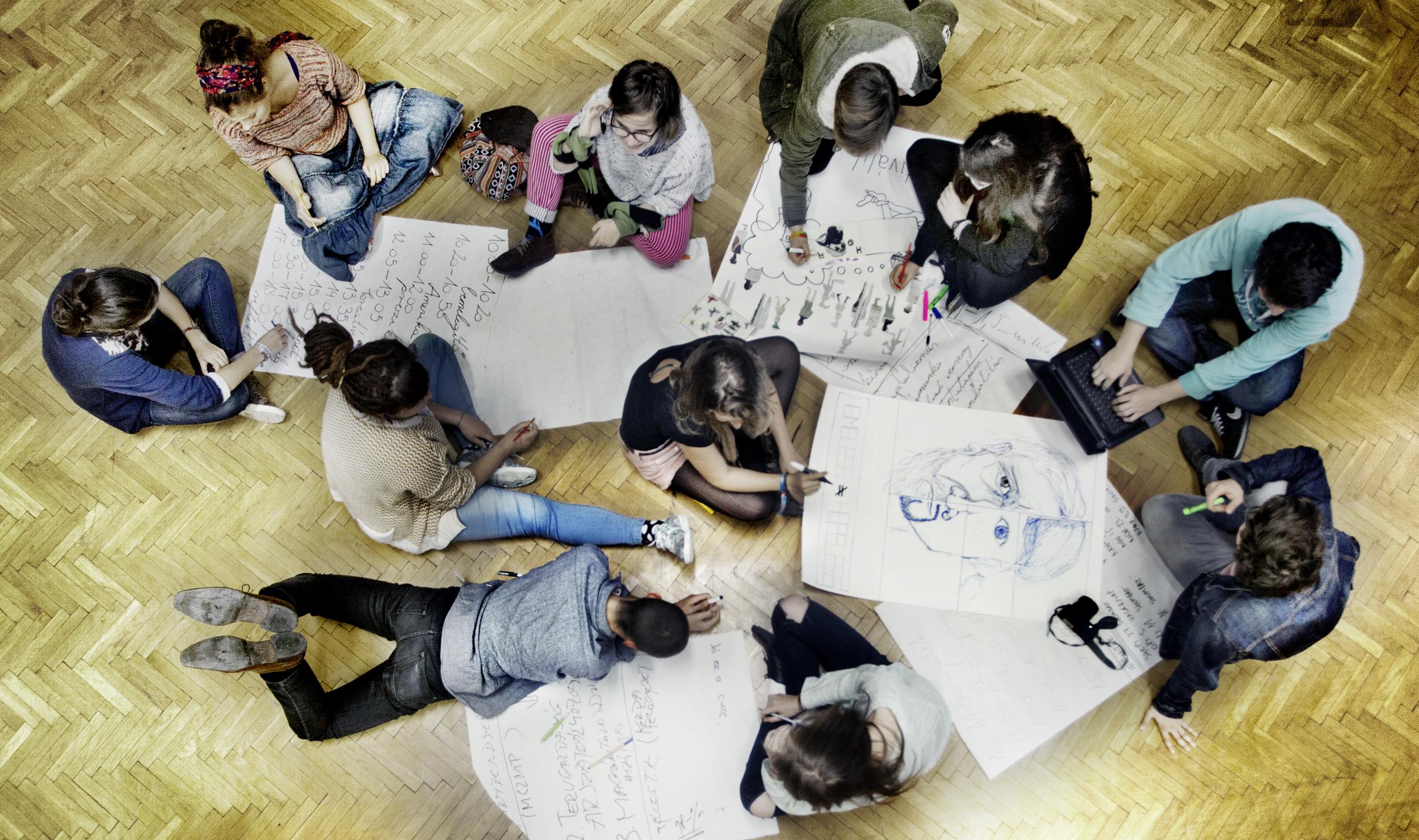Free School Project.Photo by Máté Tóth-Ridovics