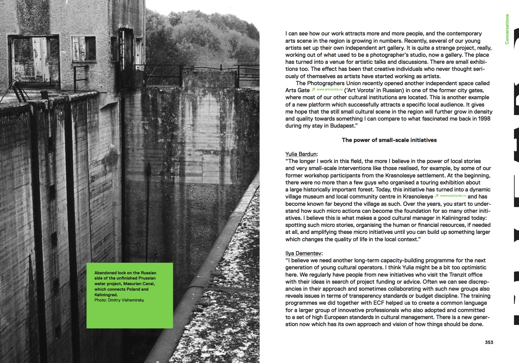 Pages from the Kaliningrad essay of the Another Europe book.