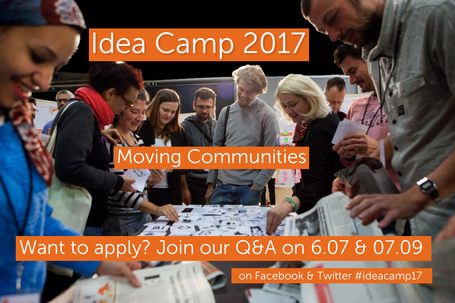 Photo of the Idea Camp 2015 by Julio Albarra  n