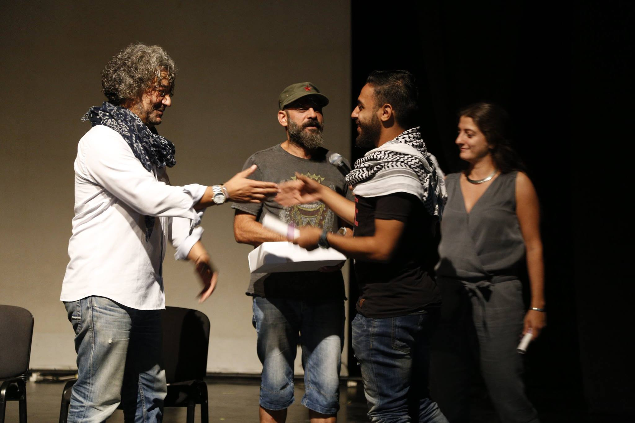 Tables rondes pendant Create Syria Showcase via  Ettijahat .