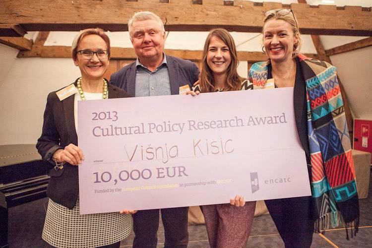 Višnja Kisic was awarded the 2013 CPRA. Photo by Dennis Ravays
