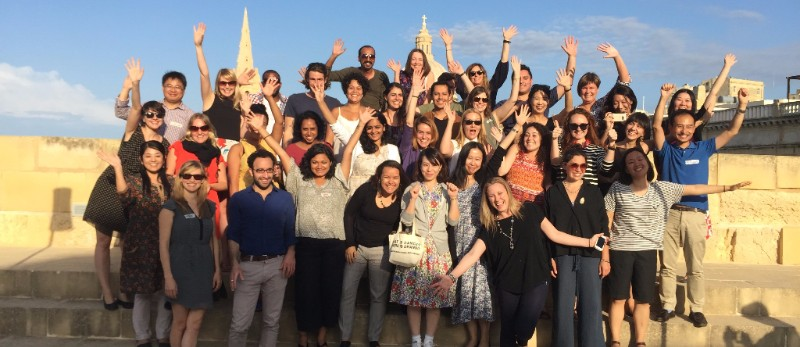 Participants to the first Global Cultural Leadership Programme in Malta