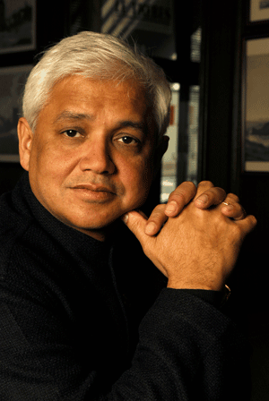 Amitav Ghosh - is an Indian author, whose work has been translated into more than two dozen languages. He published his first novel, The Circle of Reason in 1986, and his second, The Shadow Lines, in 1988. Since then, Ghosh has written a number of books, including The Glass Palace, which won the International e-Book Award at the Frankfurt book fair in 2001. Sea of Poppies was shortlisted for the Man Booker Prize, and was awarded the Crossword Book Prize and the IndiaPlaza Golden Quill Award in 2008. Most recently, he has published River of Smoke (2011), which is the second volume of a projected series of novels, The Ibis Trilogy. Ghosh has also published in journals and magazines like The New Yorker, The New Republic, and The New York Times.