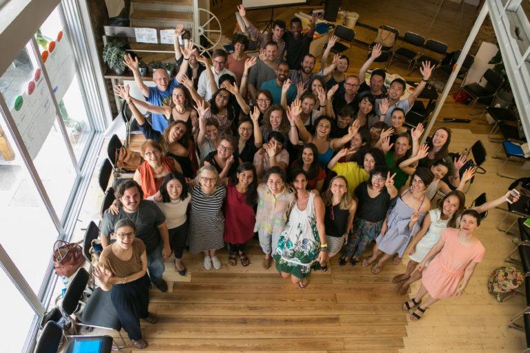 Participants of the 2017 edition. Picture by Kostas Apostolidis - Cultural Diplomacy Platform