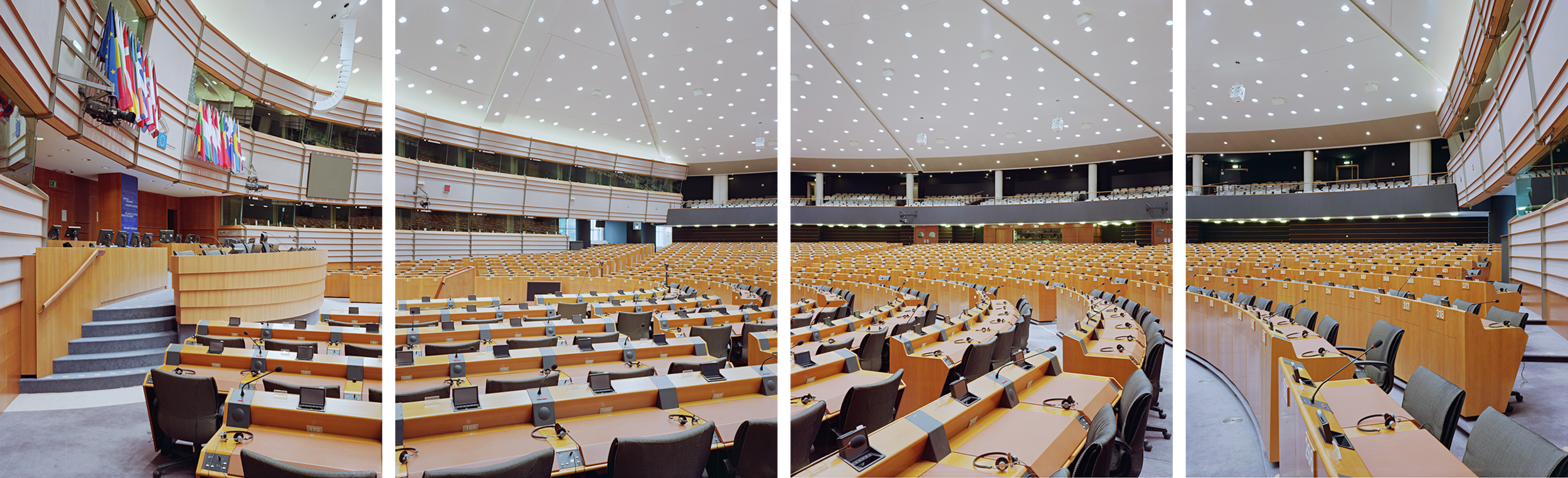 European Parliament in Brussels. Photos by Nico Bick.