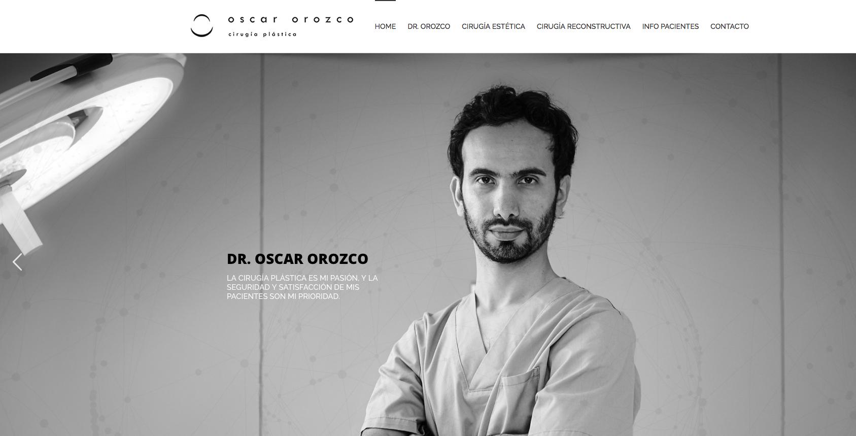 Oscar Orozco - Cirujano