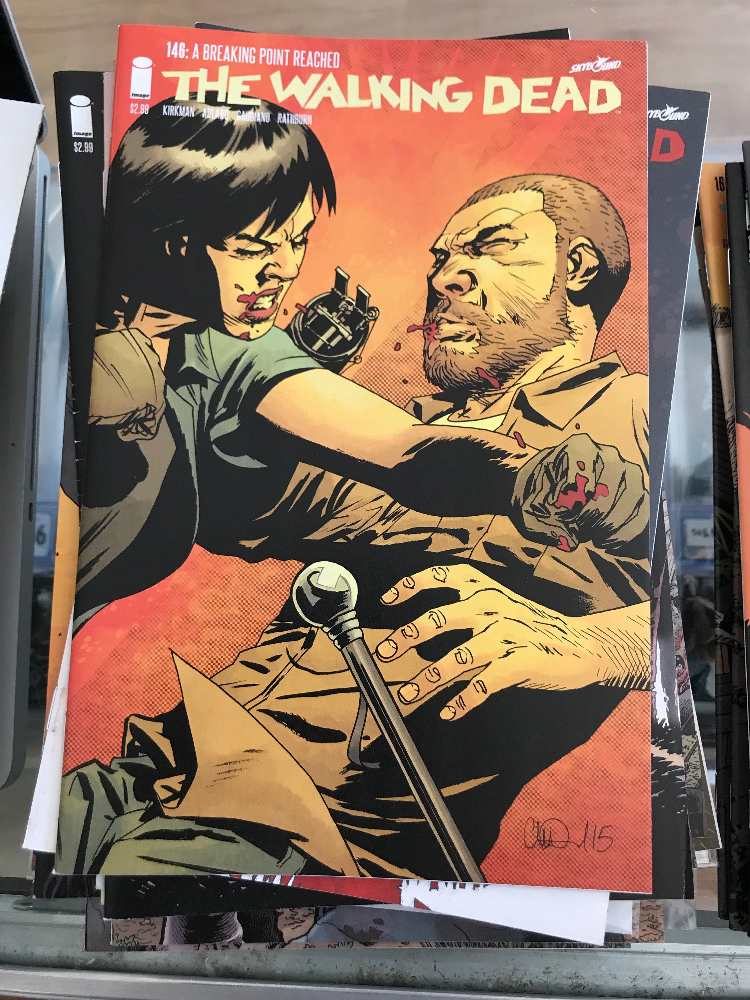 NM The Walking Dead #146 VF+