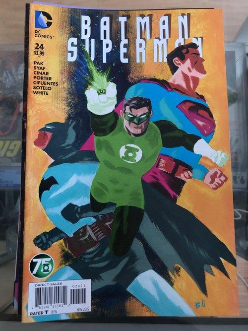 Batman Superman #24 2015 VF-NM