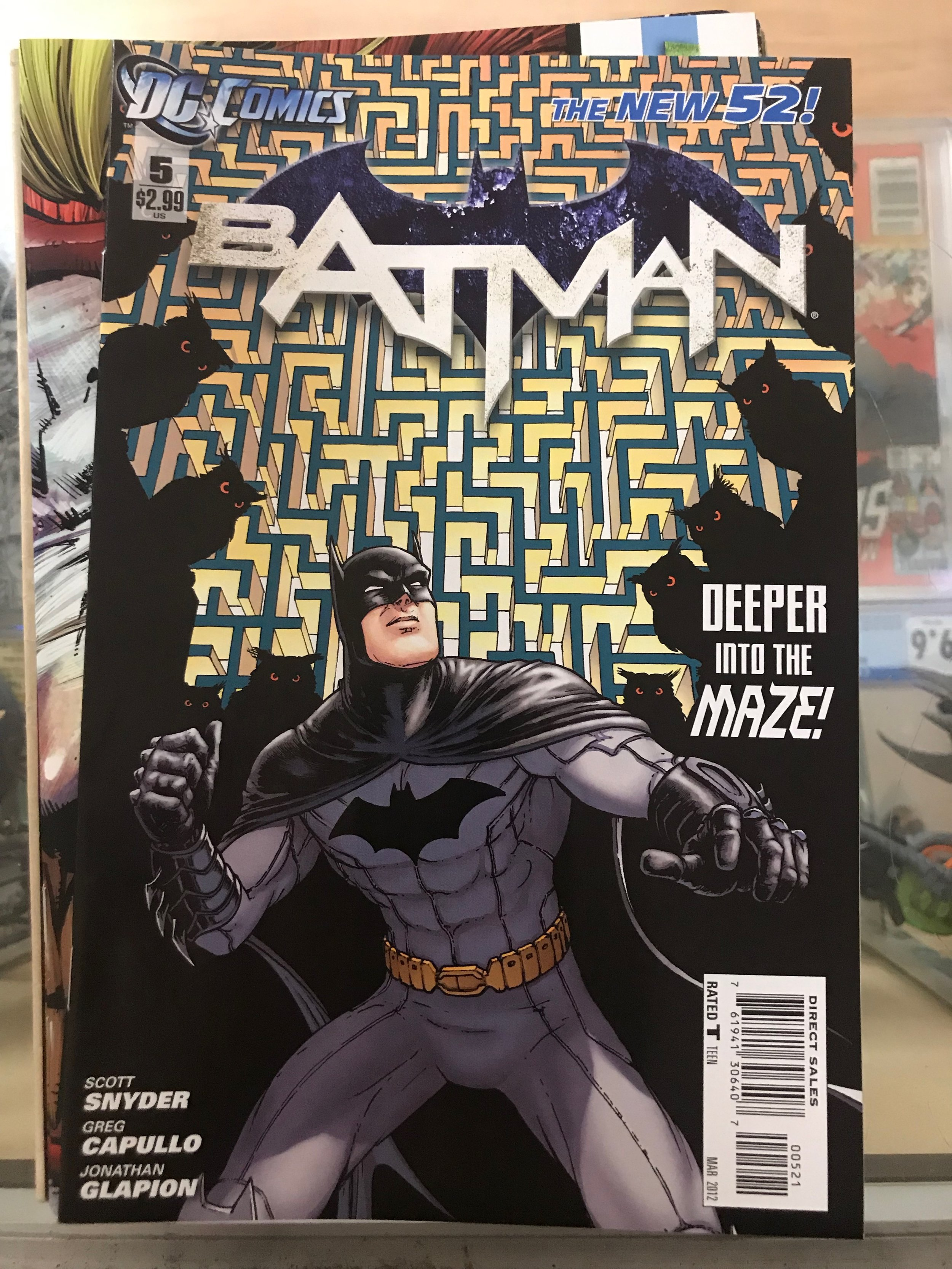 JUSTICE LEAGUE #3 Variant Greg Capullo New 52 DC 1st Print Sold Out NM to NM+