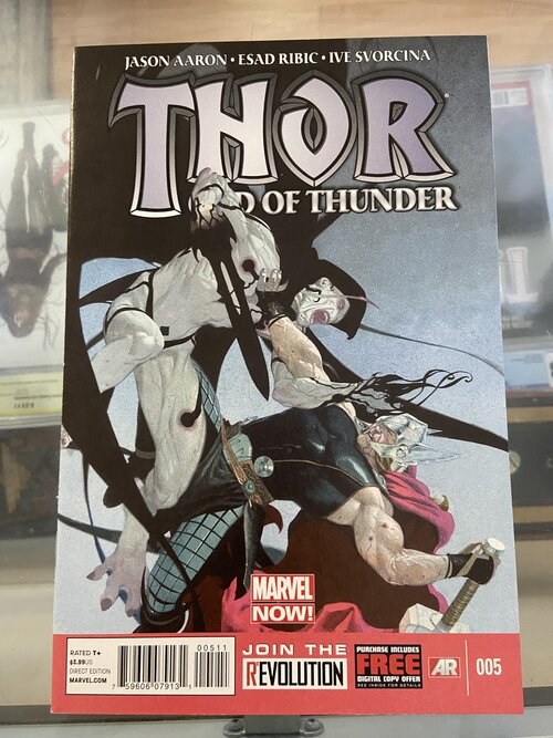 THOR FIRST THUNDER #1 OF 5 NM