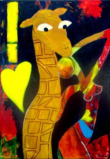 """""""Girafguf"""" 70x100"""
