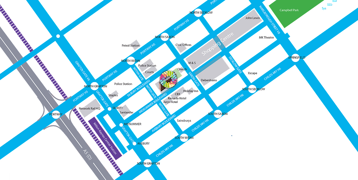Convergence College Map