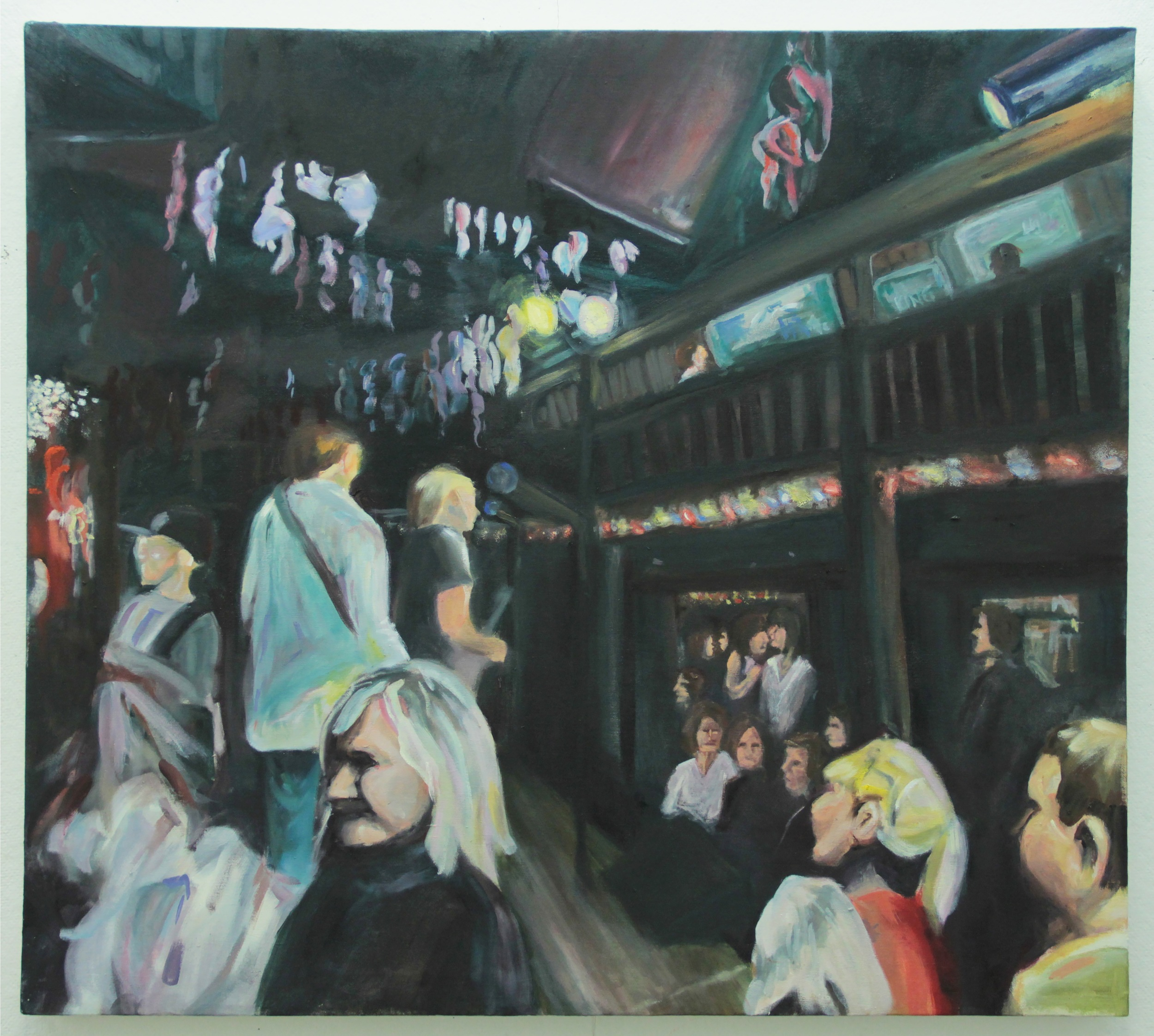 Ghost Lights in the Bear, 2011, Oil on Canvas, 30 inches (76.2 cm) x 40 inches (101.6cm)