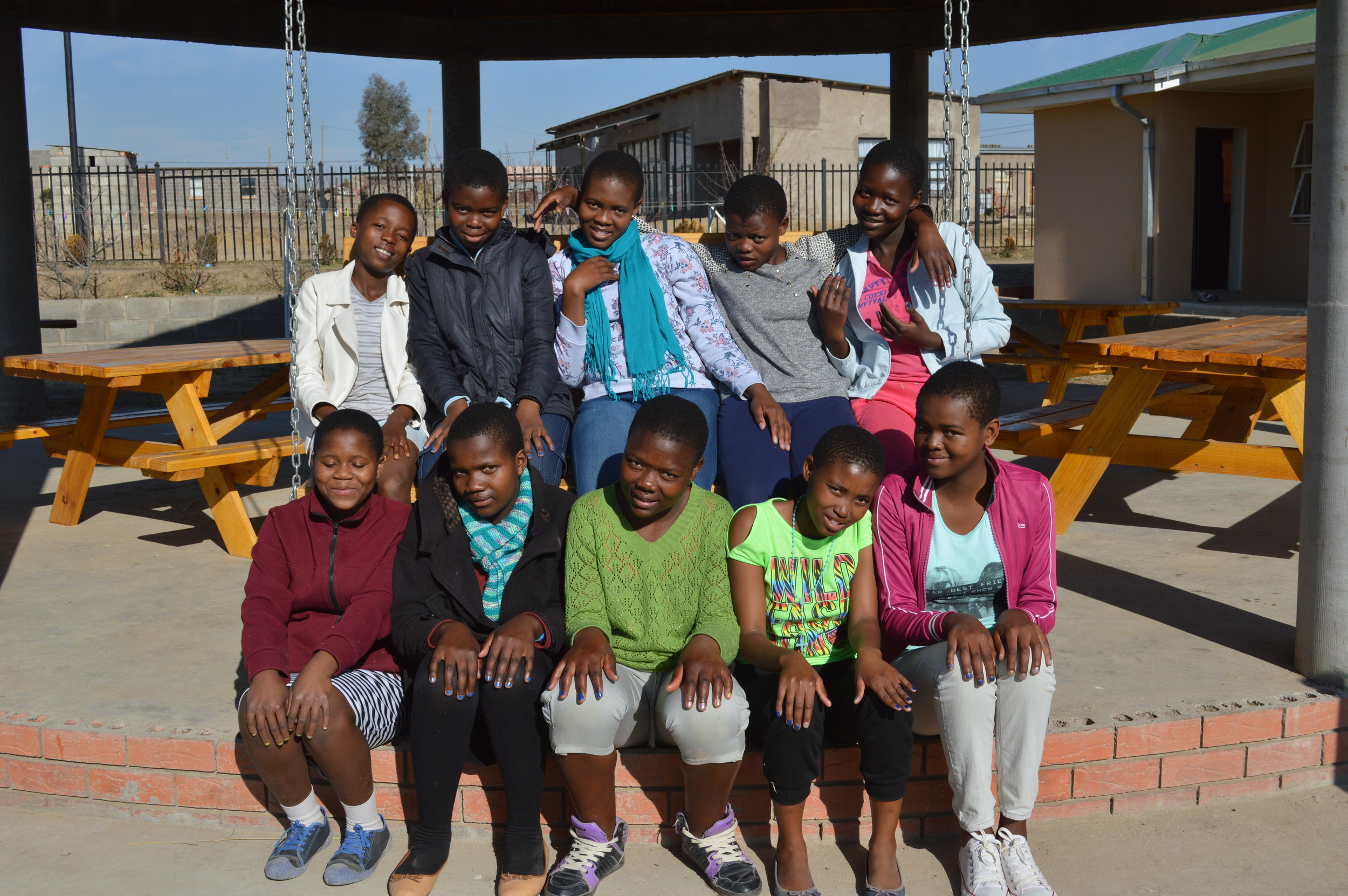 Here are some of the girls who participated in Cherish Week