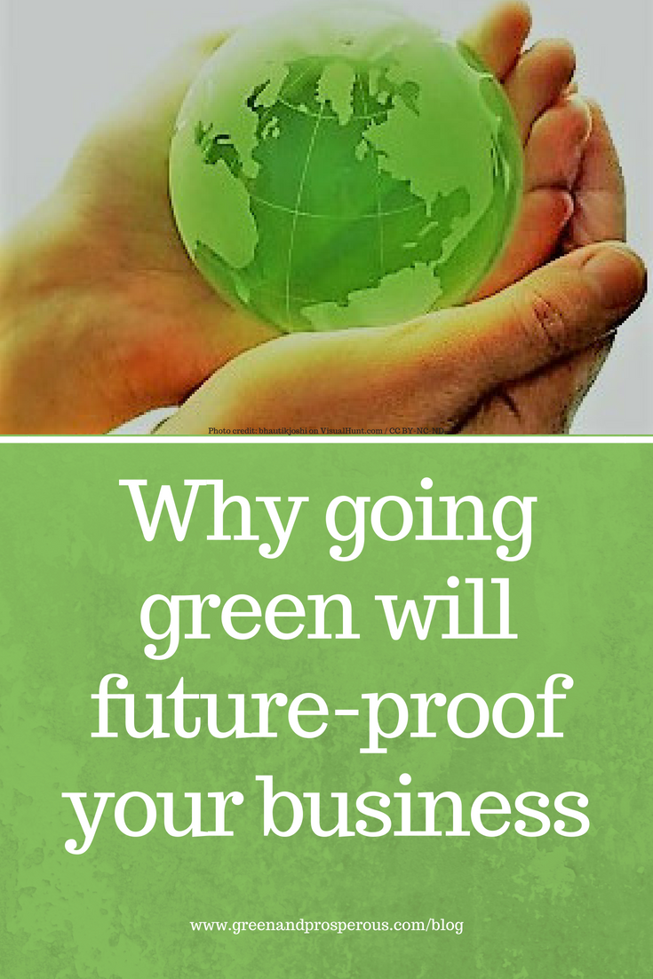 going green with future-proof your business