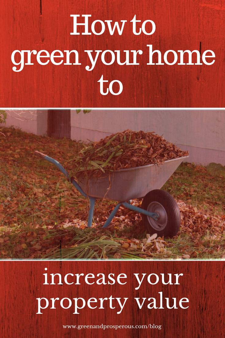 green your home to increase your property value