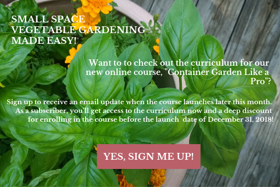 online course container gardening