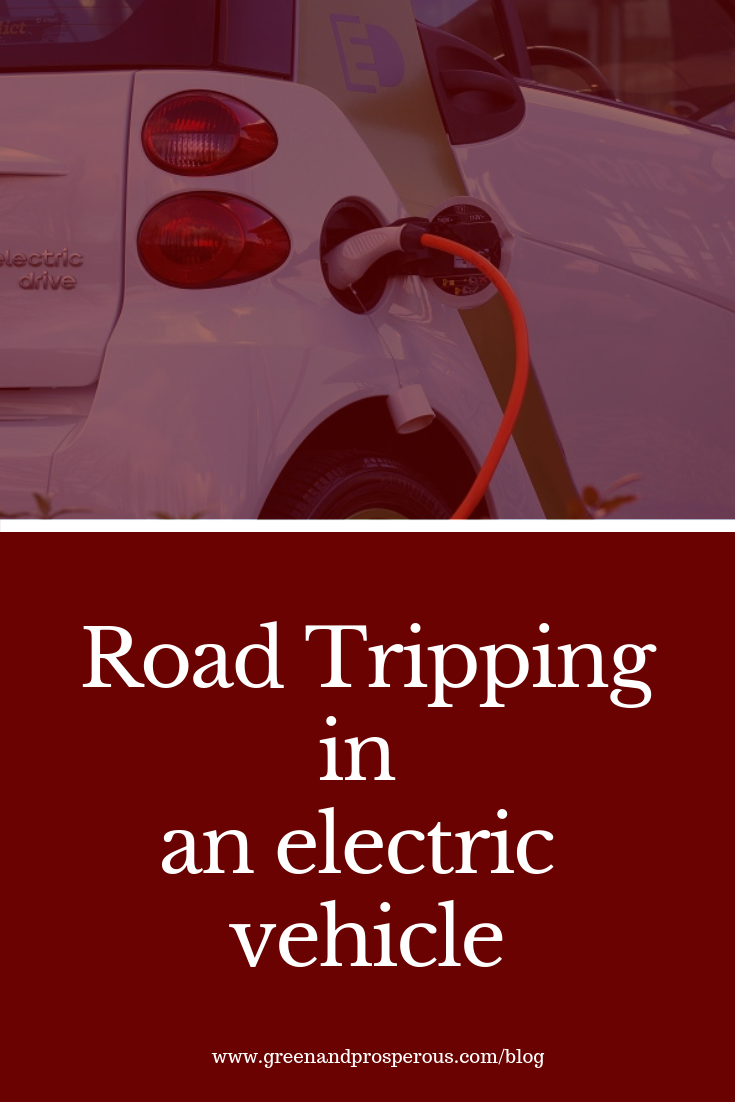 road tripping in an electric vehicle