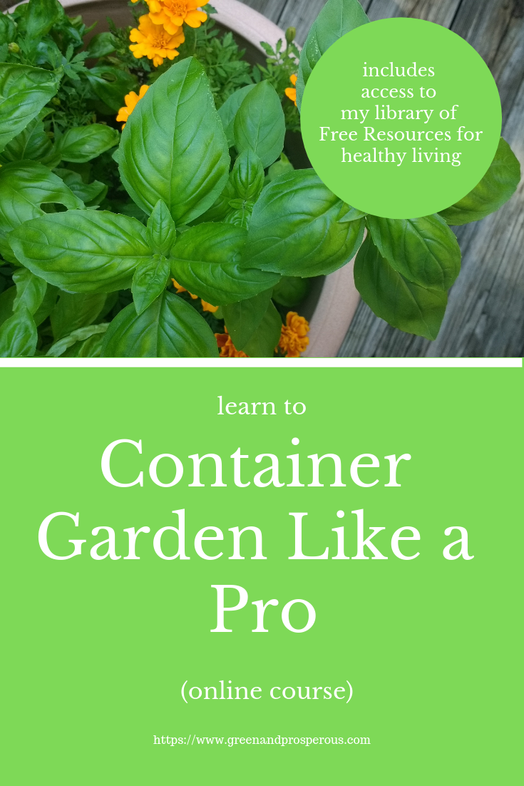 container gardening online course
