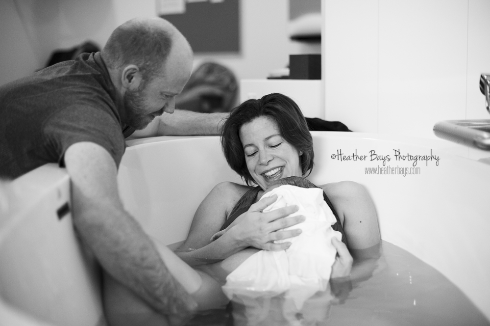 January 13th   Good Morning Wilder {birth story: birth centre water birth}