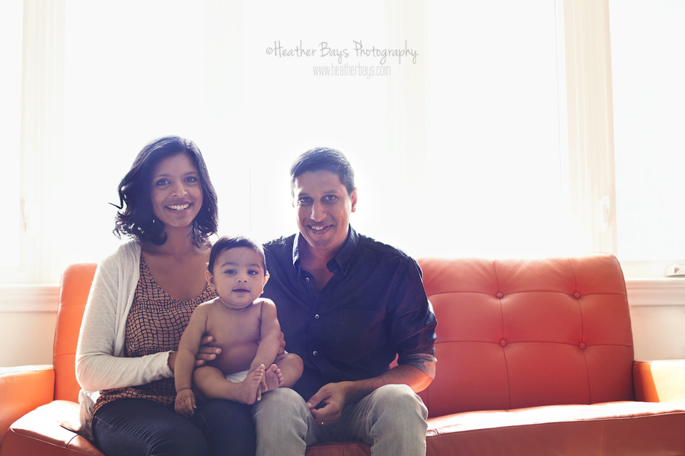 February 4th  Reevin {in-home family lifestyle portrait session}